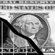 Падение доллара к евро достигло двухмесячного минимума