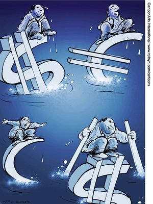Курс евро в декабре 2012