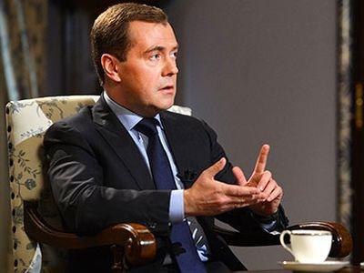 интервью Медведева немецкому изданию Handelsblatt