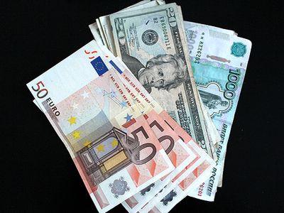 Евро Доллар Рубль