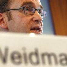 Единая валюта просела после заявления Управляющего Бундесбанка