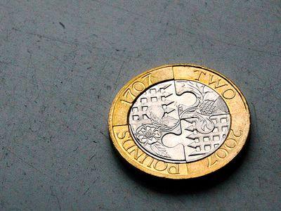 Курс валют британский фунт