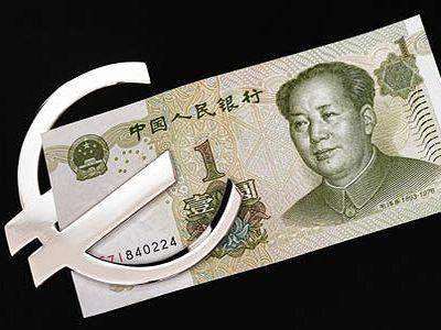 Юань в евро