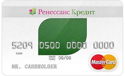 Кредитная карта Прозрачная банка Ренессанс кредит