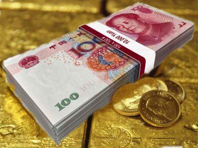 юань и золото