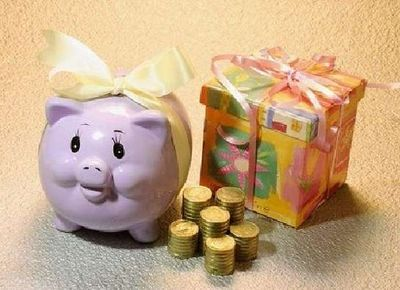 Копилка и деньги