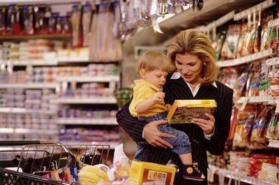 шоппинг с детьми