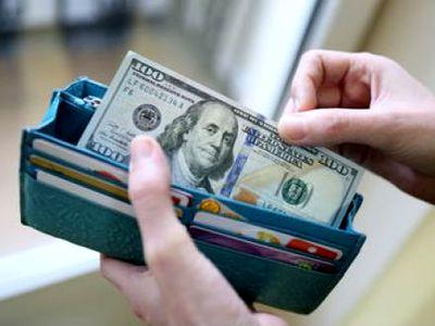 Доллар в кошельке