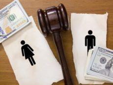Как осуществляется раздел финансов при разводе
