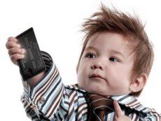 Для чего ребенку банковская карта