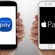 Сравнение бесконтактных платежных сервисов Apple Pay и Samsung Pay