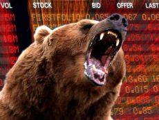 О поведении инвесторов при коррекции на фондовом рынке