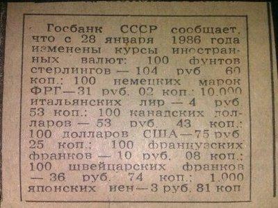 Валюта в СССР