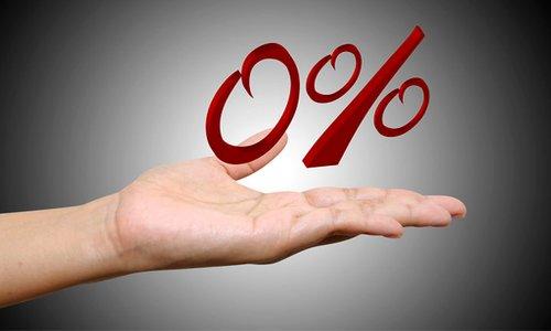 беспроцентный кредит