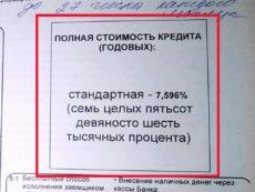 О расчете полной стоимости кредита в денежном и процентном выражении
