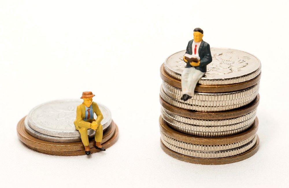 Разрыв между богатыми и бедными