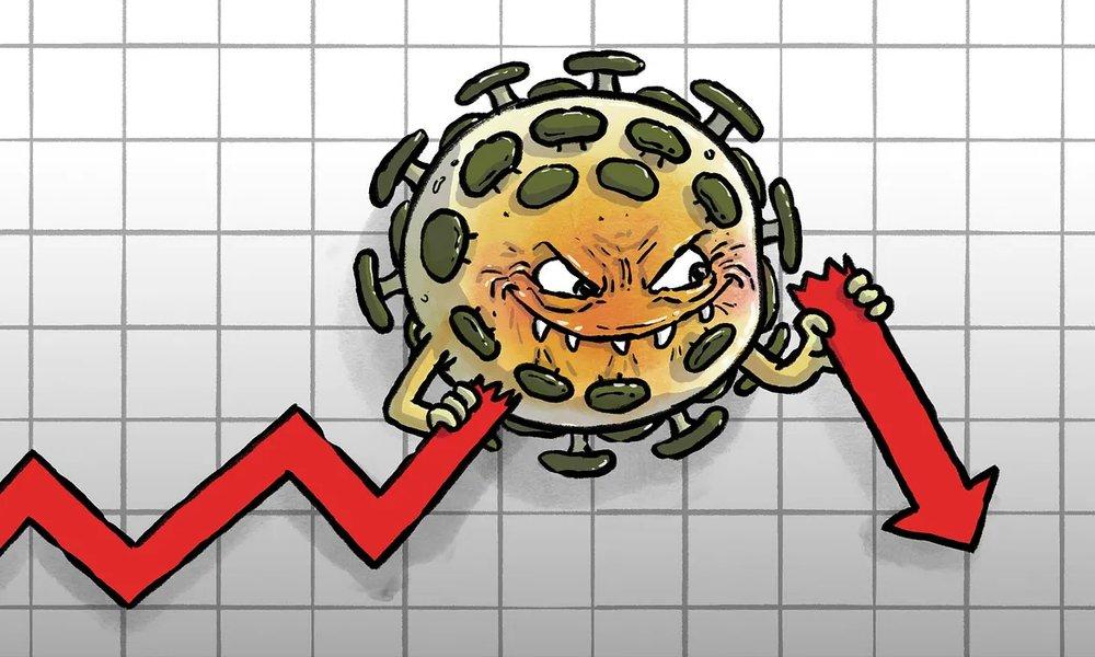 Финансовый кризис из-за коронавируса