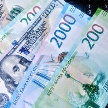 Нефть остановила рост курса рубля