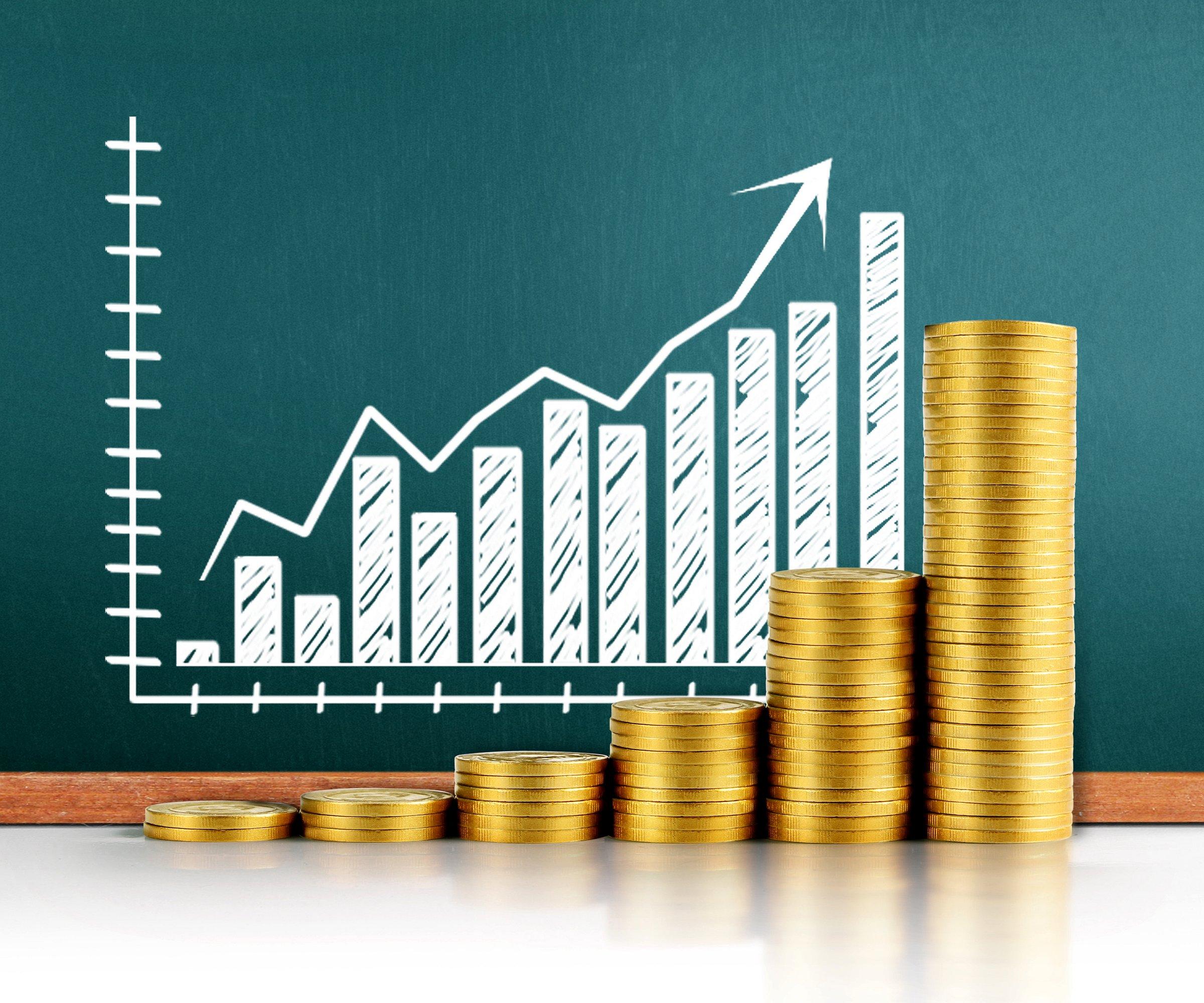 График роста доходности